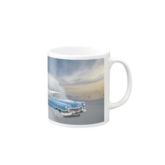 空飛ぶ車 Mugs