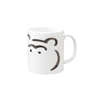 たぬきです Mugs