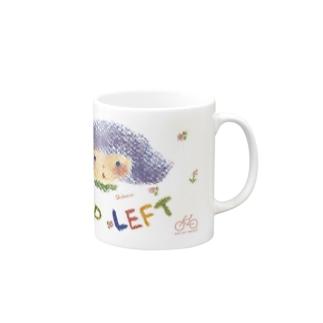 KEEP LEFT Shokoran Mugs
