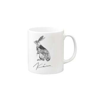 ウサギ Mugs