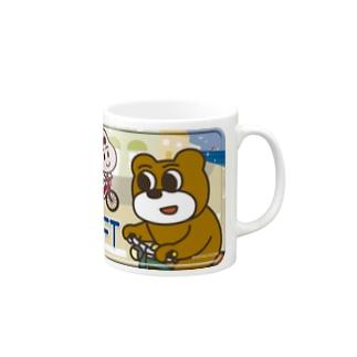 KEEP LEFT三郎君 Mugs