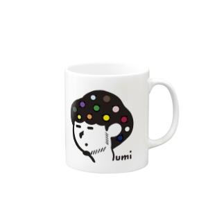 ゆるすみマグ ソロ Mugs
