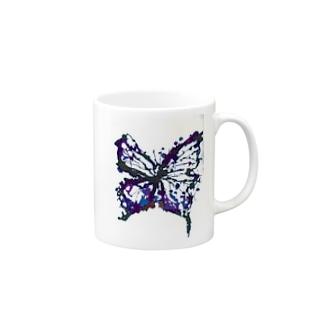 蝶々 Mugs