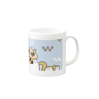 うにに ~おちゃかい~ Mugs
