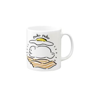 ベーコンエッグしろくまちゃん Mugs