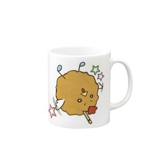唐揚げ_mag マグカップ