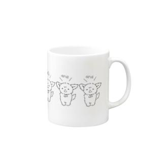 ちわとりお(シンプル) Mugs