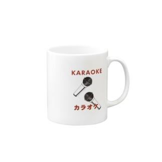 HERE I AM / KARAOKE カラオケ Mugs