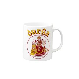 DURGA 赤×黄色(ズレ) Mugs