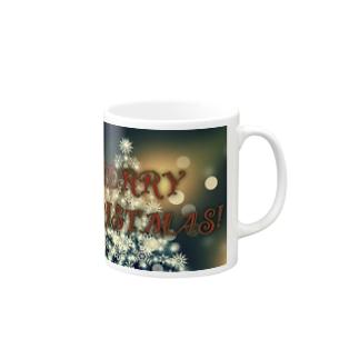 シックなクリスマス🎄 Mugs