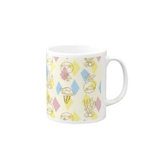 メリのすけフレンズ(ビビッド) Mugs