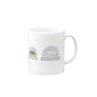 スノードーム Mugs