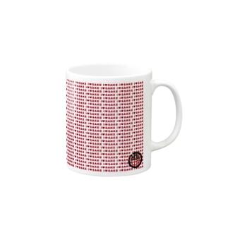 I♥SAKE(赤)いっぱいグッズ Mugs