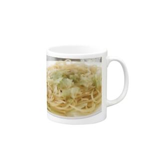 醤油ごま油キャベツスパゲッティ🍝 Ongakus photo goods Mugs