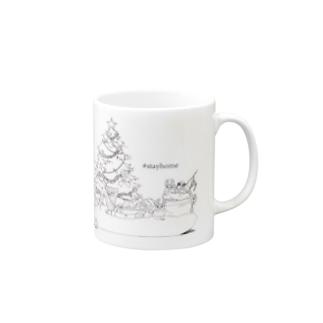 #stayhome Mugs