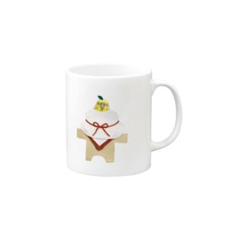 おかゆ鏡餅 Mugs