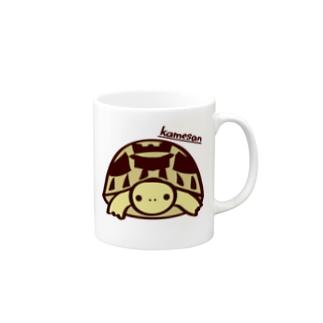 ヘルマンリクガメマグ マグカップ