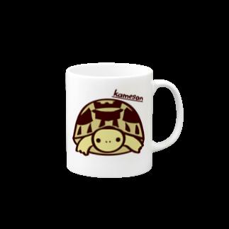 またのヘルマンリクガメマグ Mugs