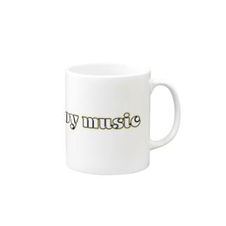 enjoy music 公式グッズ Mugs