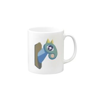 馬のハンティングトロフィー Mugs