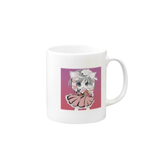 キュートなしろ(´・ω猫) Mugs