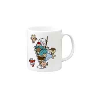 ぼくたちパフェ族 Mugs