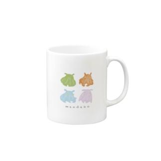 カラフルメンダコ Mugs