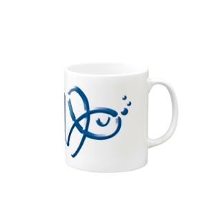 『ゆ』の字の海水魚 Mugs