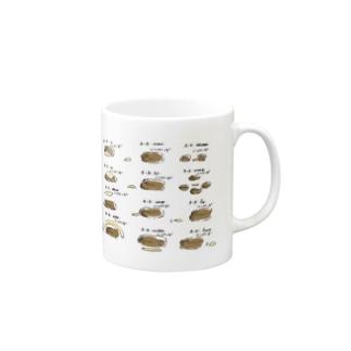 チーズ××ハンバーグ Mugs