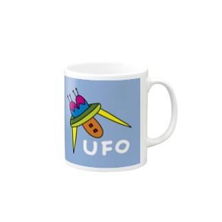 デコレーションUFO Mugs