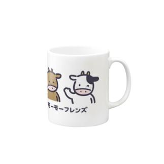 モーモーフレンズ Mugs