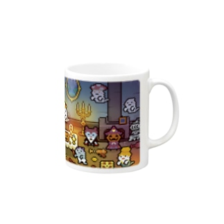 PixelArt モンスターパーティ Mugs