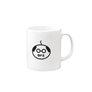 orzさん(眼鏡、修正版) Mug