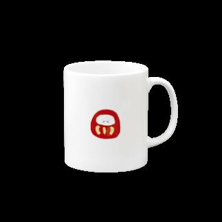 ha_kのだるま Mugs