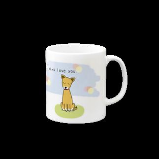 ニャゴロウ雑貨店の大切な家族マグマグカップ