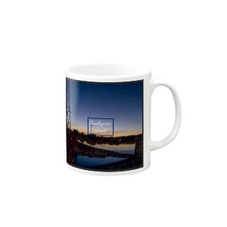 Countryside sunset 〜田舎の夕焼け〜 Mugs