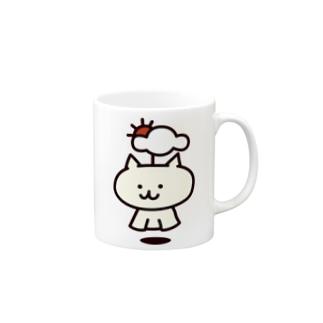 てるてるネコ 通常 Mugs