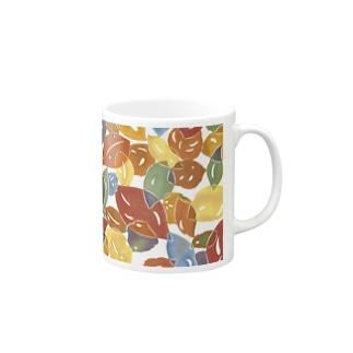 秋色の絨緞 Mugs