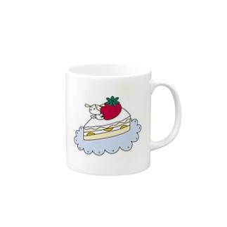 デザートハッピー Mugs