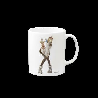 Wizardry Online 公式グッズのジュジュさん ~バニースタイル~マグカップ