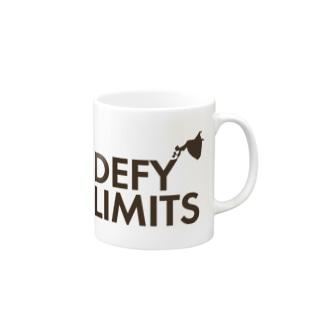 DEFY LIMITS WOMAN Mugs