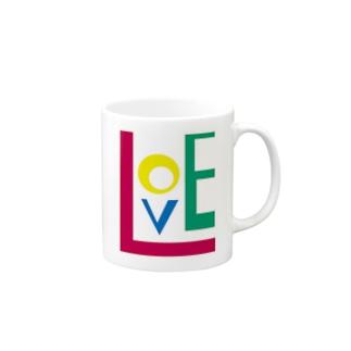 LOVE マグカップ