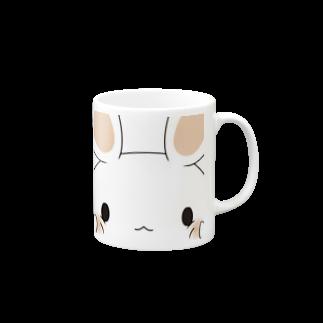 くろうさぎ・のうさぎ🐇(ほっぺ) Mugs