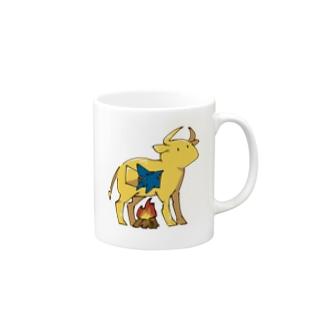 ファラリスの雄牛とサメくん Mug