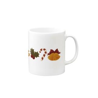 クリスマスのマグカップ2 Mugs