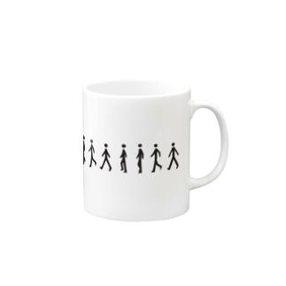 歩く人 Mugs