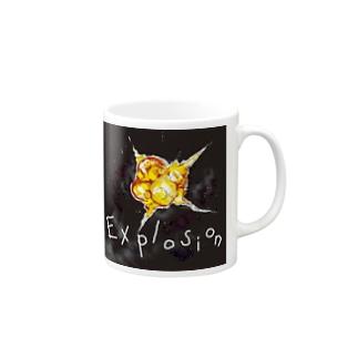 爆発 Mugs