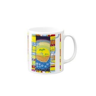 ハッピー青龍の目覚め Mugs