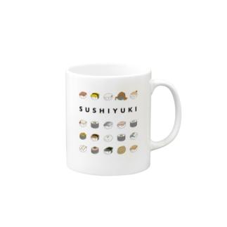 寿司ゆきズ Mugs