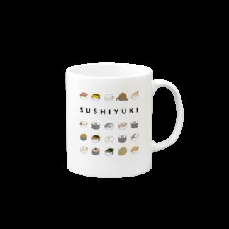 あわゆきの寿司ゆきズ Mugs